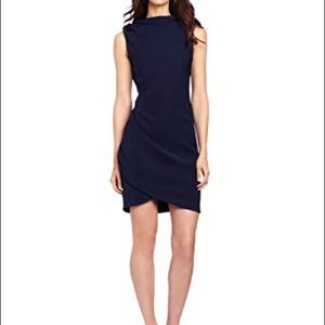 Eva Franco Gazelle Drape-Back Dress